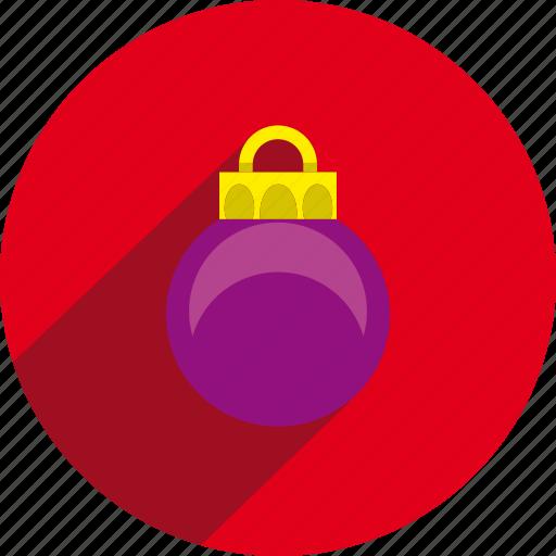 ball, christmas, circle icon