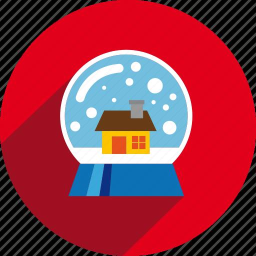 ball, circle, snow icon