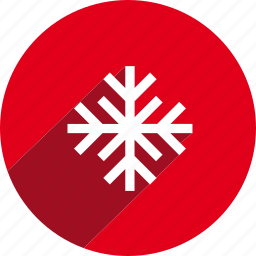 christmas, circle, holiday, snow, snowflake, winter, xmas icon