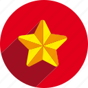 christmas, circle, holiday, holidays, star, xmas icon