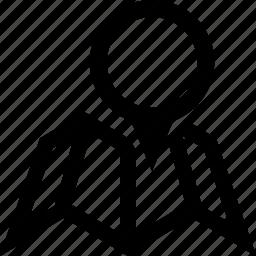 address, circle, city, folded, map, pin, street icon