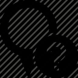 circle, destination, map, pin, strange, unknown, unnamed icon