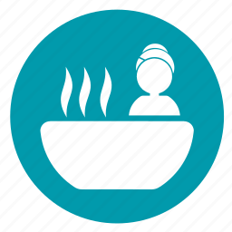 bath, bathtub, immersion spa, relax, relaxation, soaking spa, spa icon