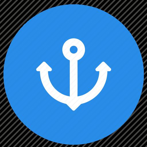 anchor, marine, nautical, sea, summer icon
