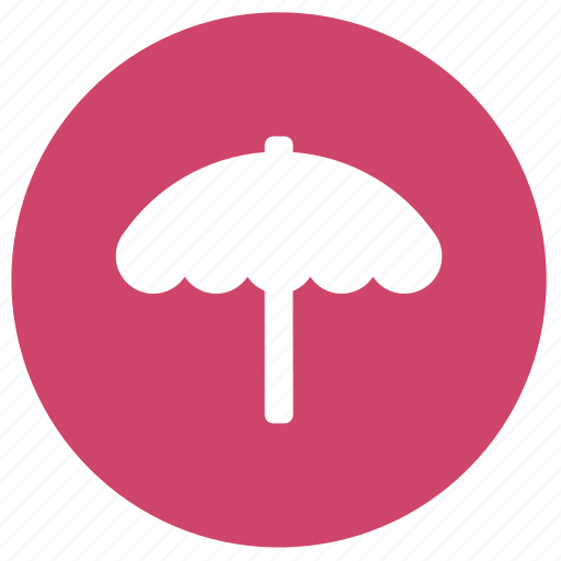 beach, beach umbrella, summer, umbrella, vacation icon