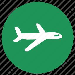 plane, summer, touring, transportation, vacation icon