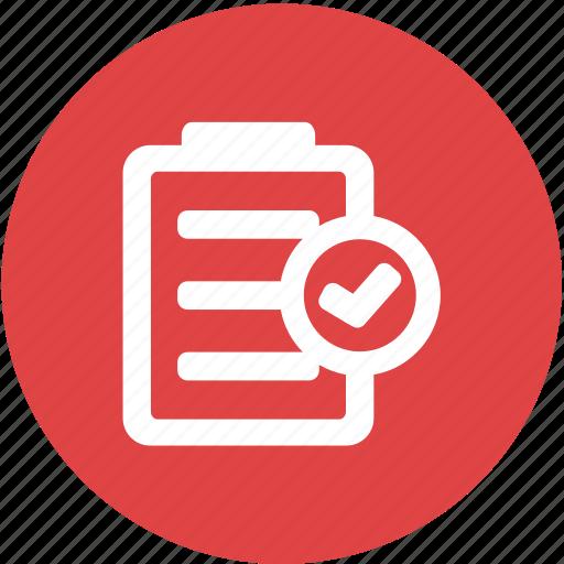 check list, list, note, peformance, programming, recording, website icon
