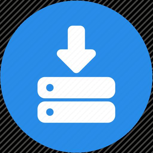 data, database, hosting, programming, storage, web, website icon