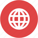 globe, internet, network, programming, web, website icon