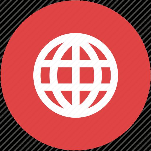 globe, internet, network, programming, web, website icon