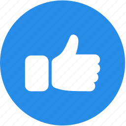 appreciation, like, thumbs up, web, website icon