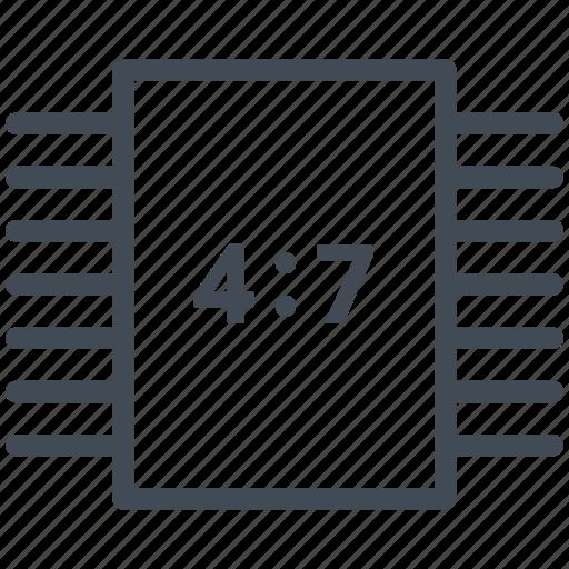 Awe Inspiring 7 Segments Decoder Binary Decoder Circuit Diagram Electric Wiring 101 Cularstreekradiomeanderfmnl