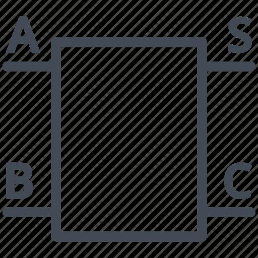 circuit, diagram, electric, electronic, half adder, logic icon