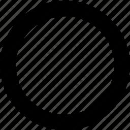 circle, circular, round, shape icon