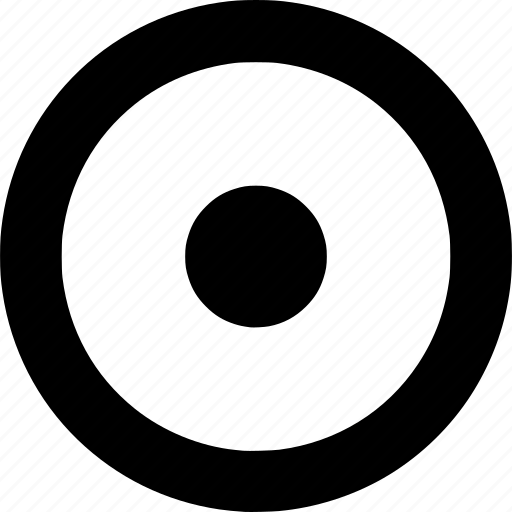 Circle, dot, round, shape icon - Download on Iconfinder