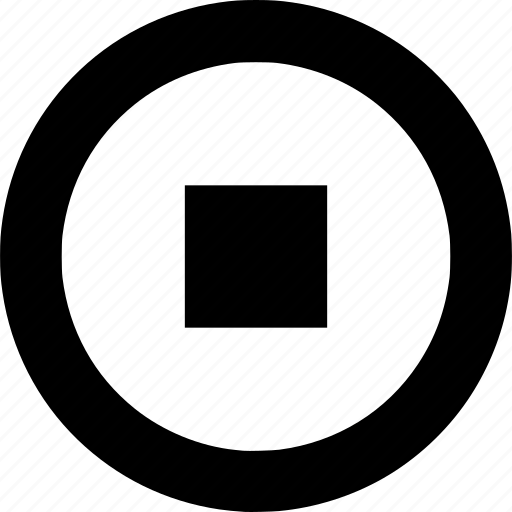 circle, circular, rectangle, round, shape, shapes, square icon