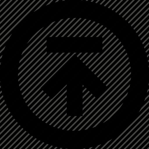 circle, data, document, documents, file, storage, upload icon