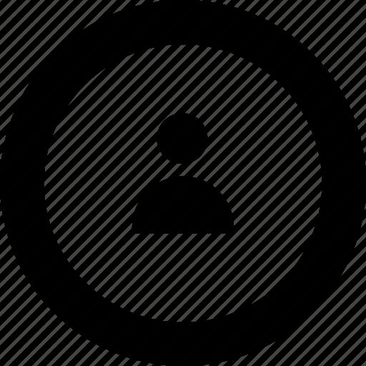 account, avatar, circle, people, person, profile, user icon