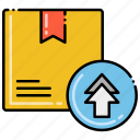 box, package, product, upgrade icon