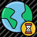 globe, limited, resource, scarcity icon