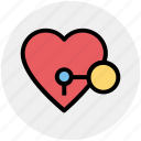 circus, heart, heart lock, key, keyhole, love, secret feelings icon