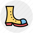 circus, clown boots, clown shoes, costume, footwear, joker icon