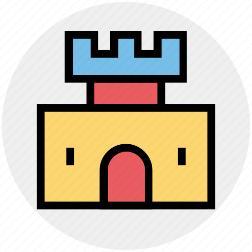 Building, castle, citadel, fortress, palace, tower icon - Download on Iconfinder