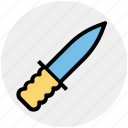 circus, knife, throwing, war, weapon icon
