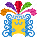 carnival, costume, festival, hat, headdress, headpiece icon