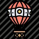 balloon, funfair, outdoor, park, tour icon
