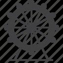 wheel, ferris, attraction, carnival