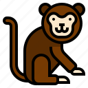 animal, circus, monkey icon