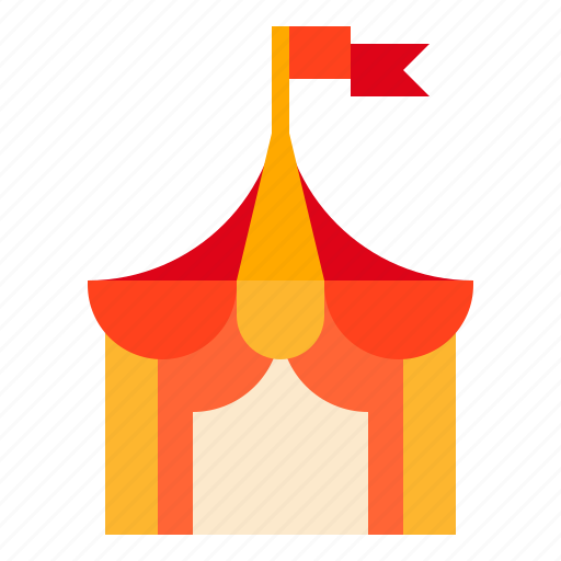 Circus, tent icon - Download on Iconfinder on Iconfinder
