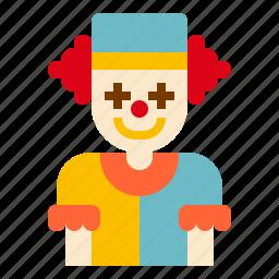 clown, face icon
