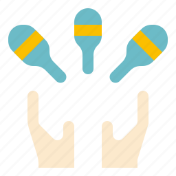 juggling, show icon
