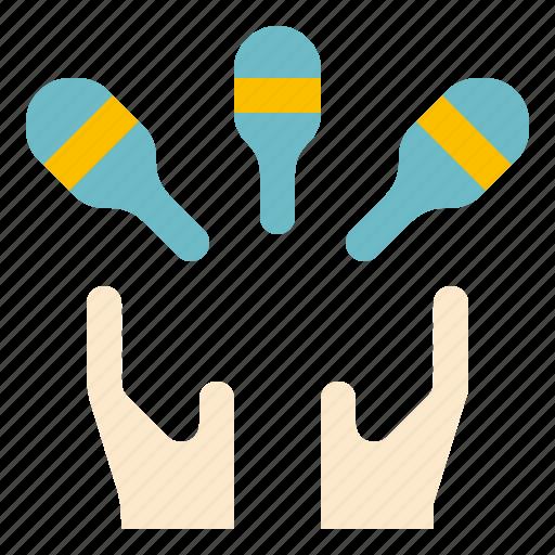 Juggling, show icon - Download on Iconfinder on Iconfinder