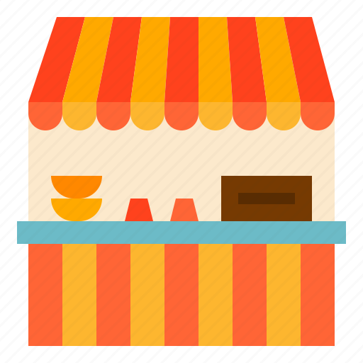 food, stall icon