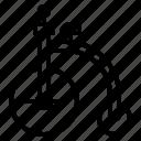 bicycle, vehicle icon