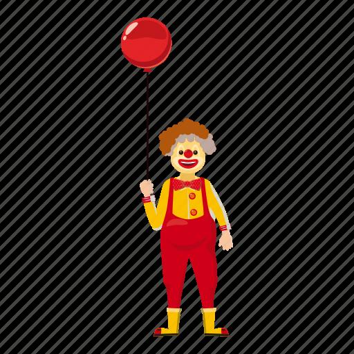 carnival, cartoon, circus, clown, entertainment, face, logo icon