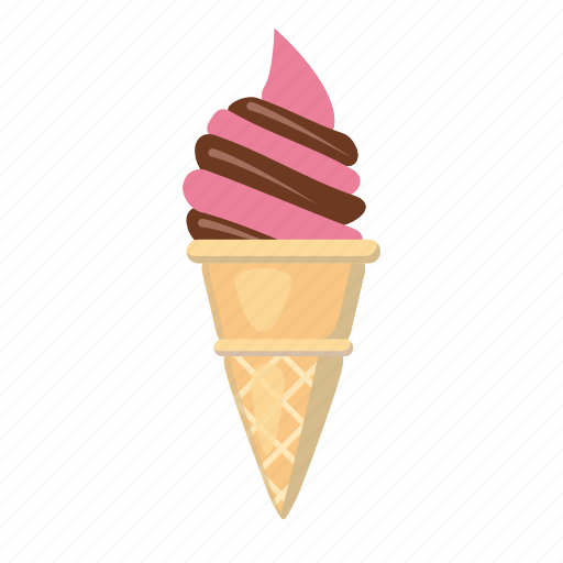 cartoon, circus, ice cream, logo, milk, sweet, tasty icon