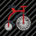 bicycle, bike, circus, face, fun, joker, wheel