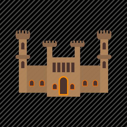 castle, circus, fairytale, kingdom, stone, tower icon