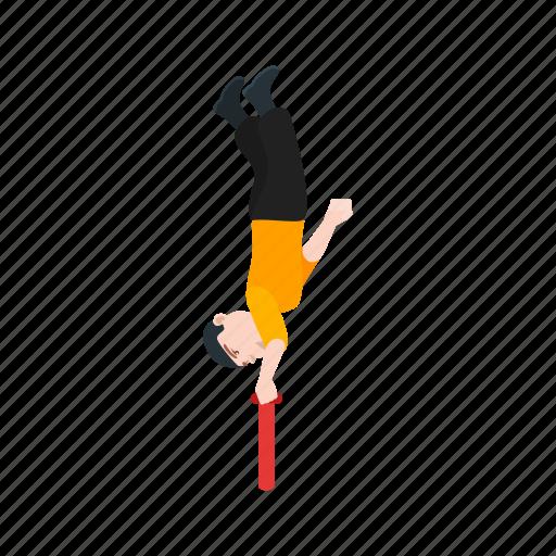 acrobat, circus, performance, ring, ringmaster, show icon