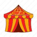 amusement, arena, cartoon, entertainment, festival, show, tent icon