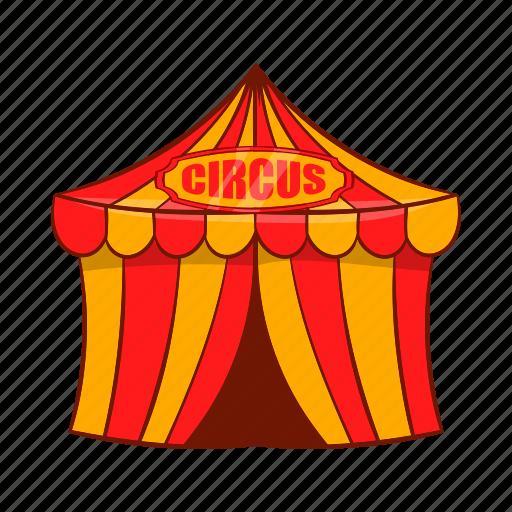 amusement, arena, cartoon, entertainment, festival, show, tent icon