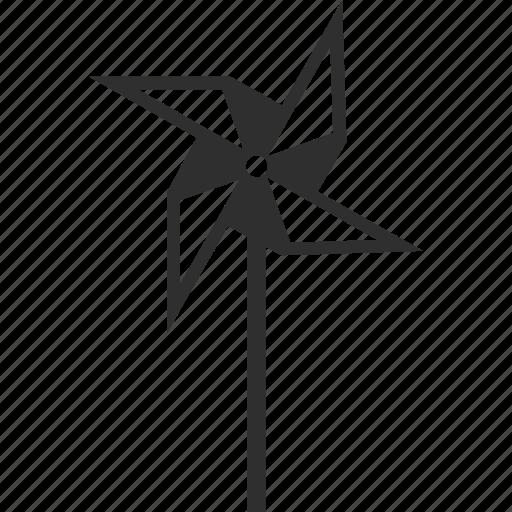 game, pinwheel, play, toy icon