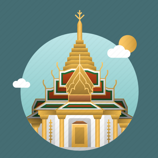Architecture, asia, bangkok, building, capital, city, landmark icon - Download on Iconfinder