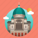 building, canada, capital, city, landmark, montreal, monument icon