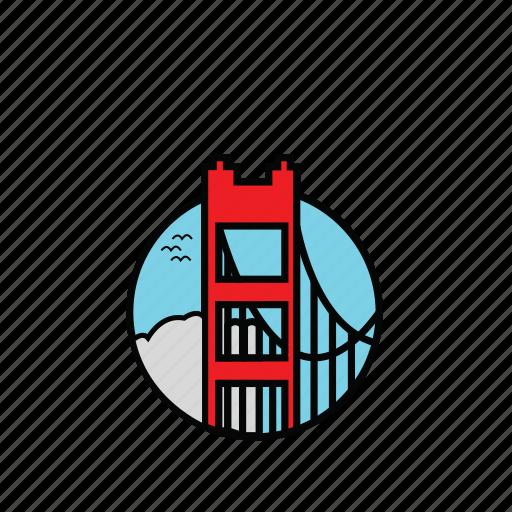 city, icon, san francisco icon
