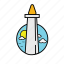 city, icon, jakarta icon